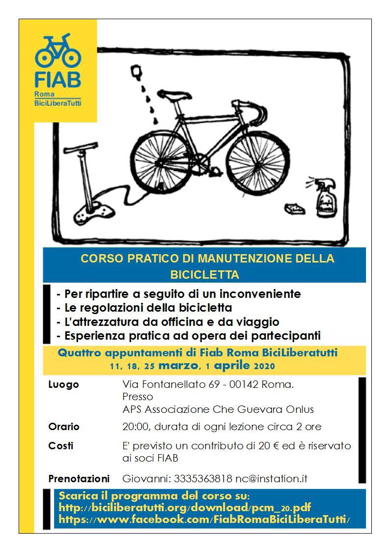 Corso di Manutenzione della Bicicletta @ APS Associazione Che Guevara Onlus